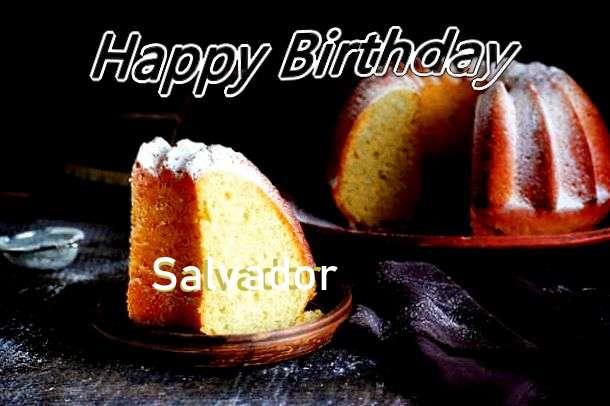 Salvador Birthday Celebration