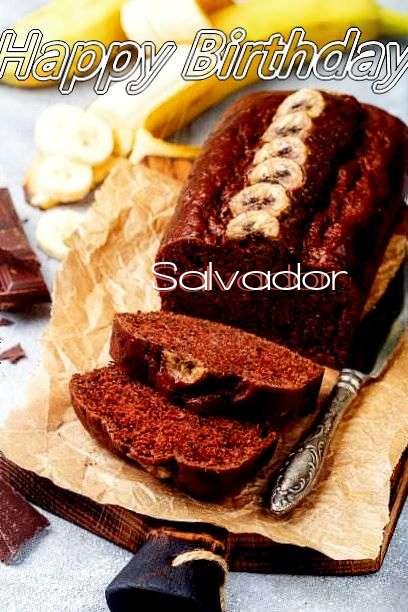 Happy Birthday Cake for Salvador