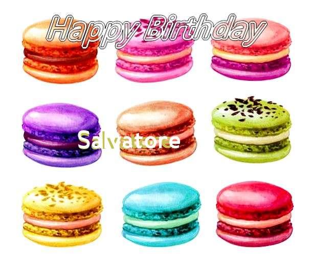 Happy Birthday Cake for Salvatore