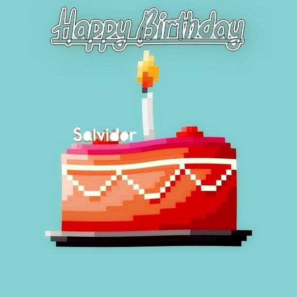 Happy Birthday Salvidor Cake Image