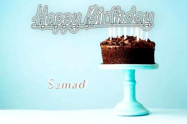 Happy Birthday Cake for Samad