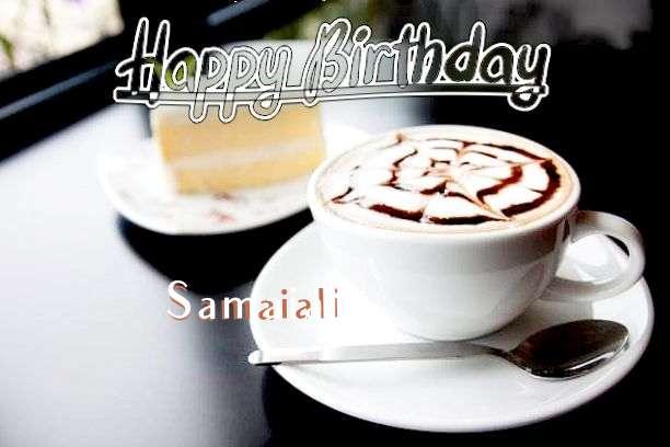 Happy Birthday Samaiali