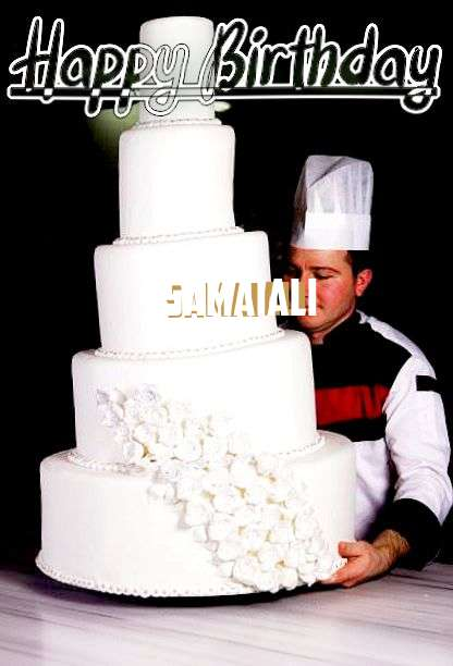 Samaiali Birthday Celebration