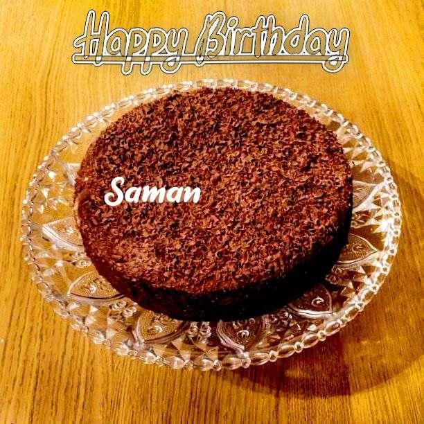 Birthday Images for Saman