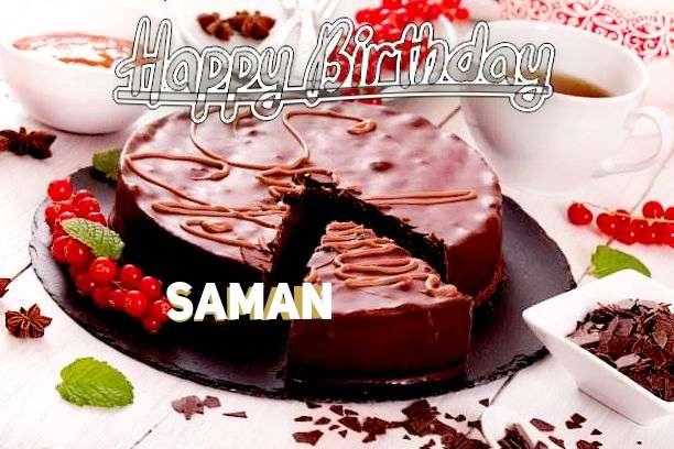 Happy Birthday Wishes for Saman