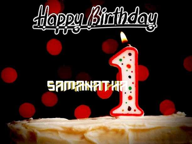 Happy Birthday to You Samanatha