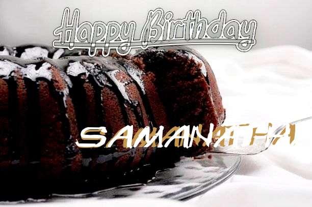 Wish Samanatha