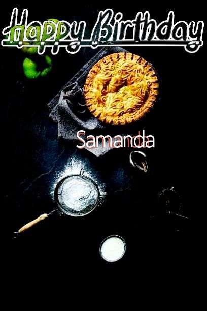 Happy Birthday Samanda