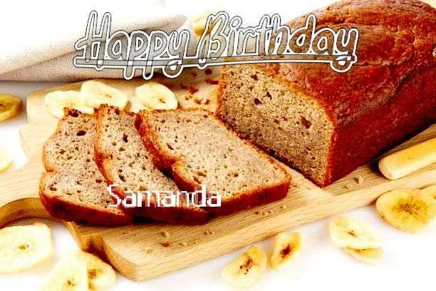 Birthday Images for Samanda