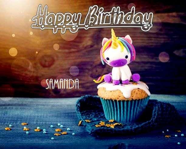 Happy Birthday Wishes for Samanda