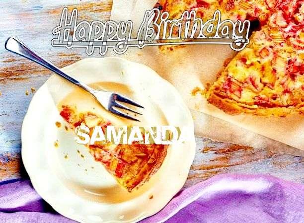 Happy Birthday to You Samanda