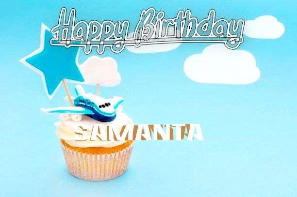 Happy Birthday to You Samanta