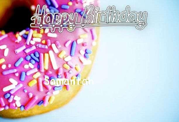 Happy Birthday to You Samantah