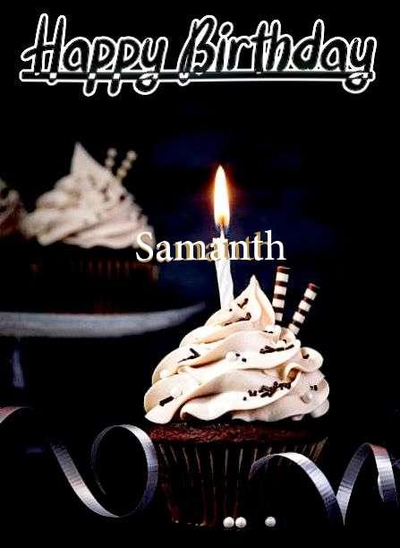 Happy Birthday Cake for Samanth