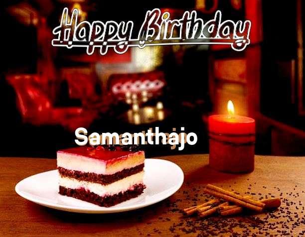 Happy Birthday Samanthajo Cake Image