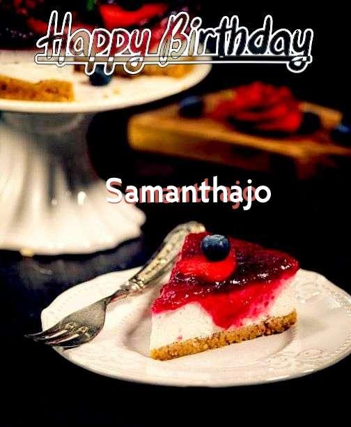 Happy Birthday Wishes for Samanthajo