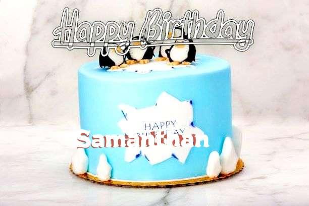 Happy Birthday Samanthan