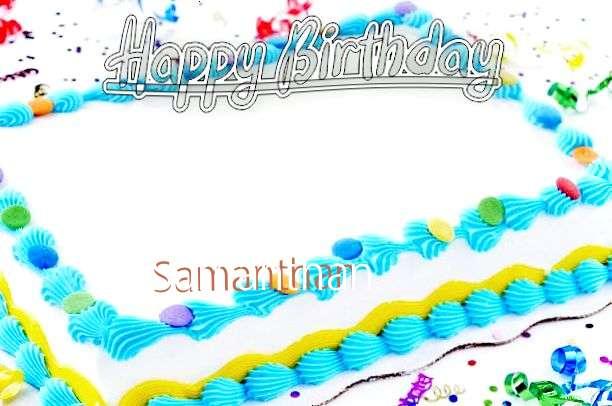 Samanthan Cakes