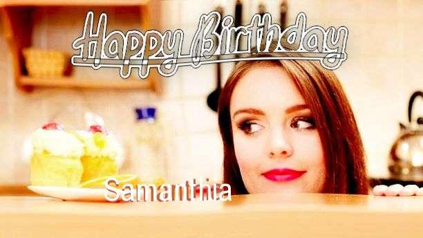 Birthday Images for Samanthia