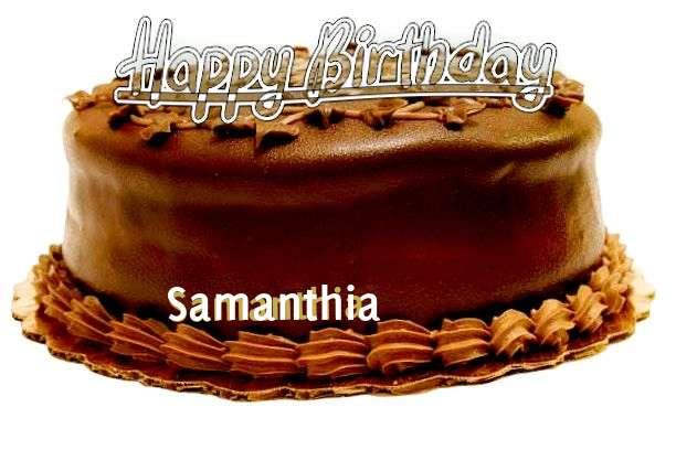Happy Birthday to You Samanthia