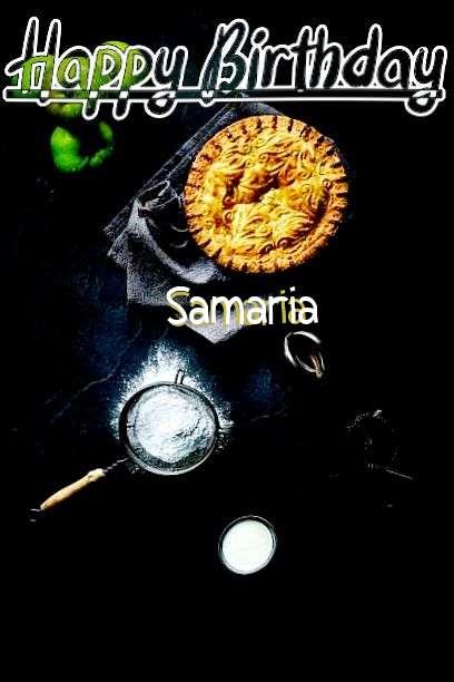 Happy Birthday Samaria