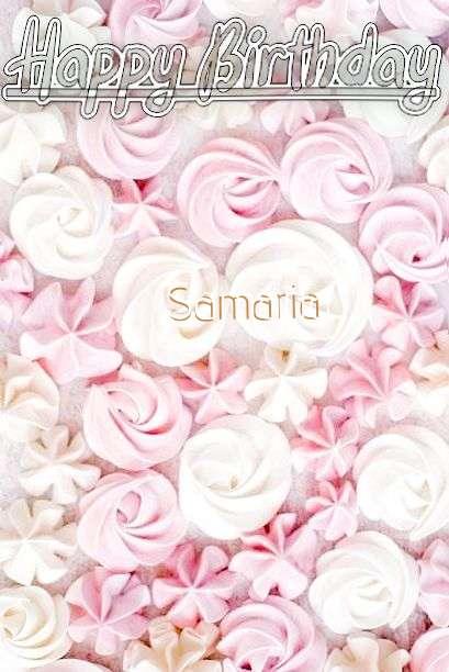 Samaria Birthday Celebration