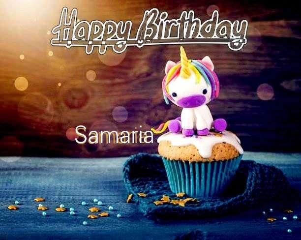 Happy Birthday Wishes for Samaria
