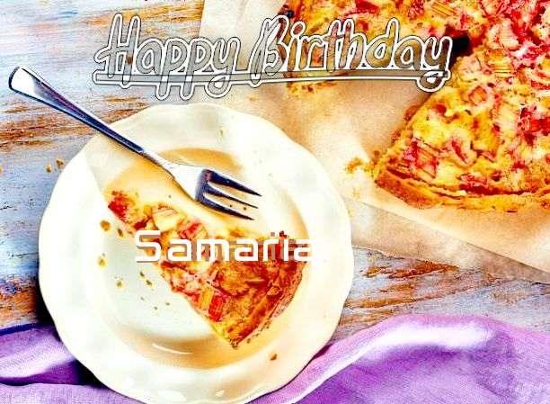 Happy Birthday to You Samaria