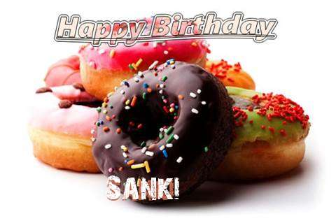 Birthday Wishes with Images of Sanki