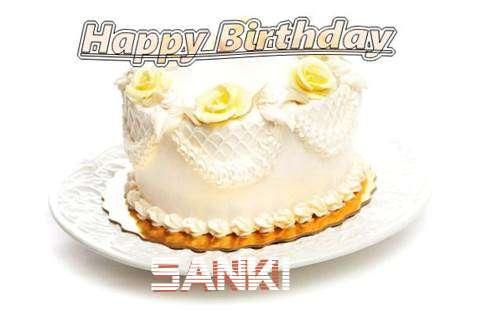 Happy Birthday Cake for Sanki