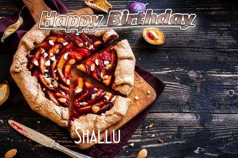 Happy Birthday Shallu Cake Image