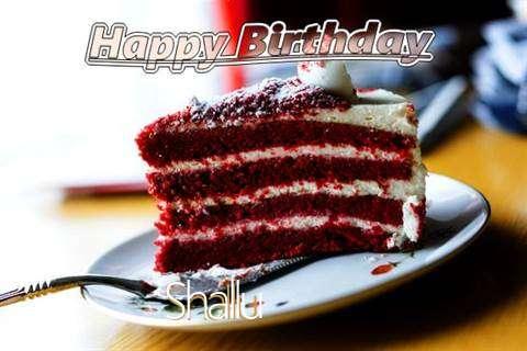Happy Birthday Cake for Shallu