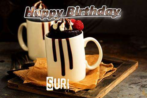 Suri Birthday Celebration