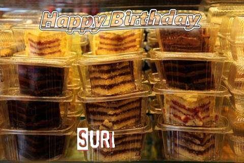 Happy Birthday to You Suri