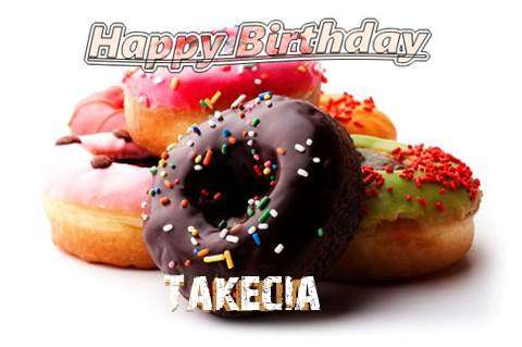 Birthday Wishes with Images of Takecia