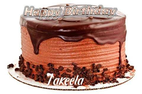 Happy Birthday Wishes for Takeela