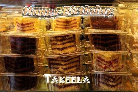 Happy Birthday to You Takeela