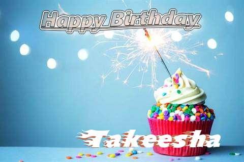 Happy Birthday Wishes for Takeesha