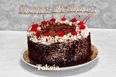 Happy Birthday Takeia
