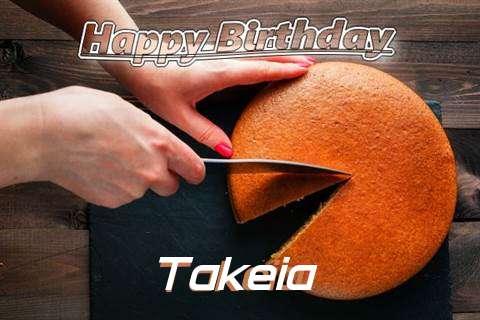 Happy Birthday to You Takeia