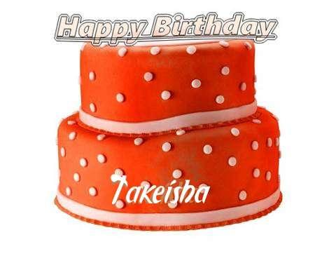 Happy Birthday Cake for Takeisha