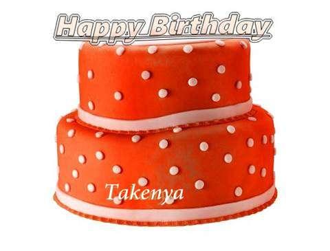 Happy Birthday Cake for Takenya