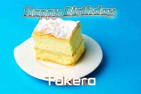 Happy Birthday Takera Cake Image