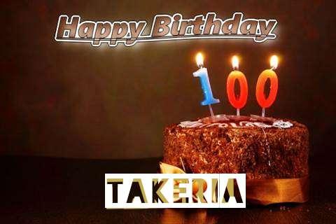 Takeria Birthday Celebration