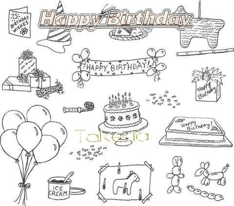 Happy Birthday Cake for Takeria