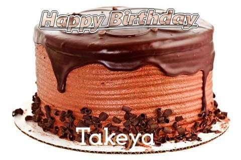 Happy Birthday Wishes for Takeya