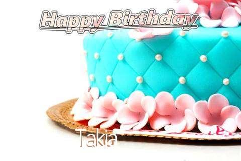 Birthday Images for Takia