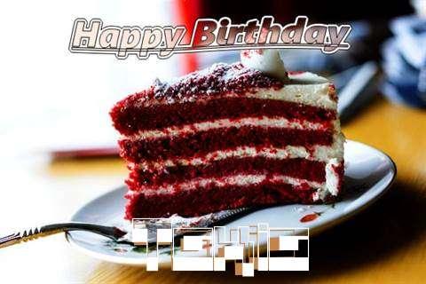 Happy Birthday Cake for Takia