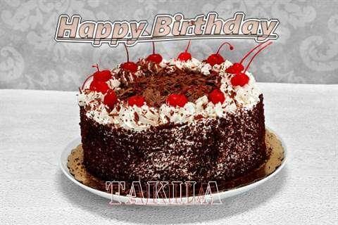 Happy Birthday Takila