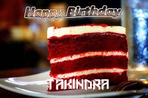 Happy Birthday Takindra